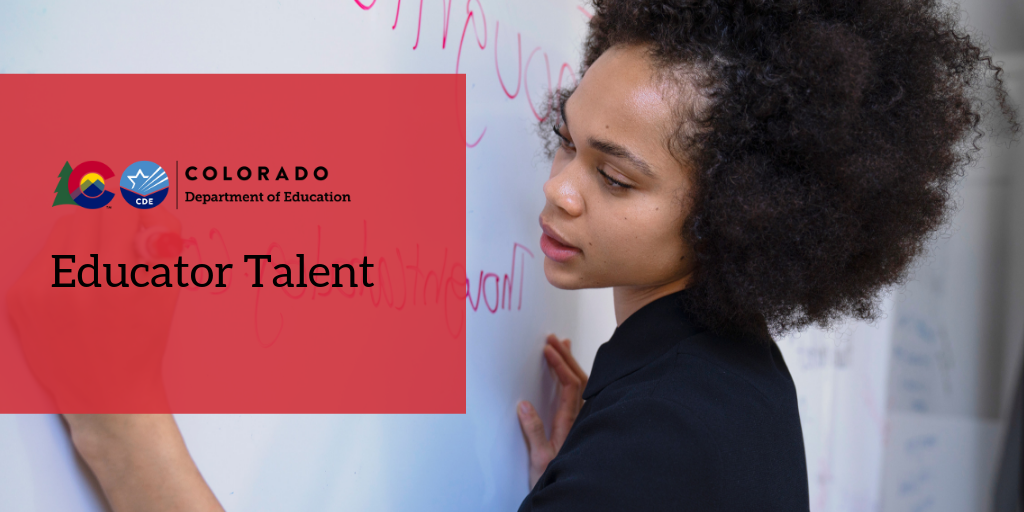 Colorado Department of Education Educator Talent
