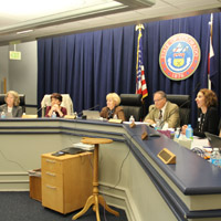 State Board of Education members during the October 2016 meeting