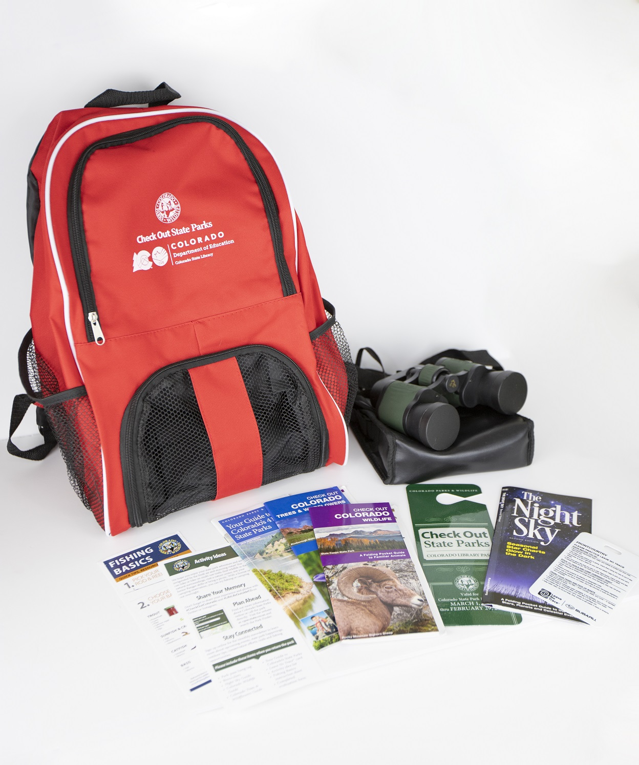 Check out state parks back pack and borhcures