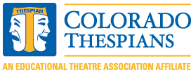 Colorado State Thespians logo