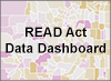 READ Act Data Dashboard text over map image