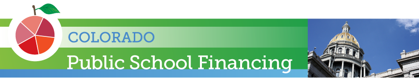 Colorado school finance header