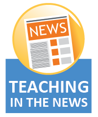 Teaching in the news