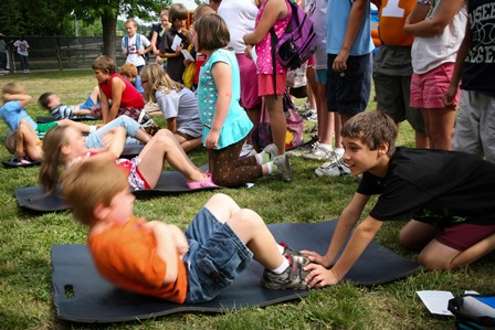 Kids Exercise image for PE