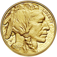 2017 American Buffalo One Ounce Gold Proof Coin