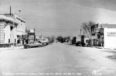 Business district, Limon, Colo. on U.S. Hwys. 24, 40, 71, 287