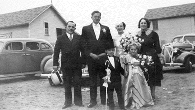 the Croce family, Welby, CO