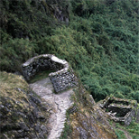 Remnants of Buildings Along the Inca Trail