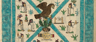 Section 1 of Codex Mendoza