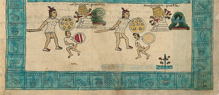 Section 2 of Codex Mendoza