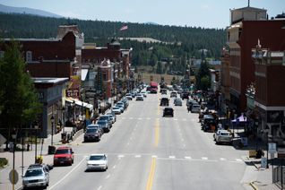 Harrison Ave. Leadville, CO  2015