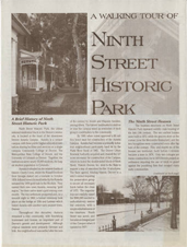 A Walking Tour of Ninth Street Historic Park