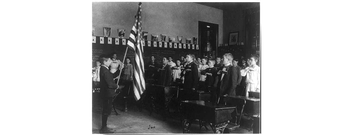 Pledge of Allegiance photograph