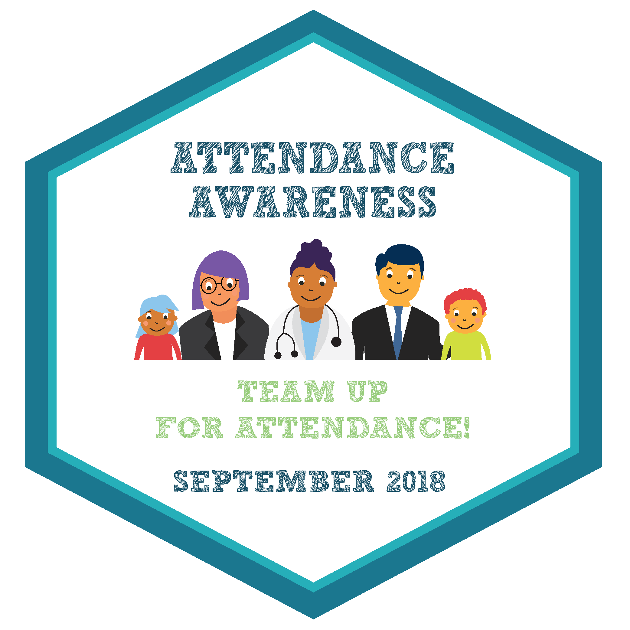 Attendance Awareness, Team up for Attendance, September 2018