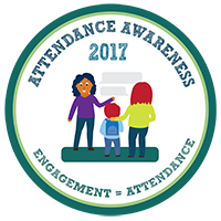 Attendance Awareness 2017, Engagement = Attendance Badge