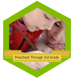 Preschool through third grade logo