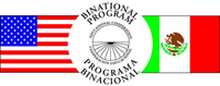 Logo for Binational Program: Educational Cooperation. Programa Binacional: Cooperacion Educacional