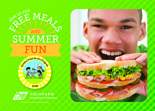 Summer Food Service Program - Banner 1 ICON