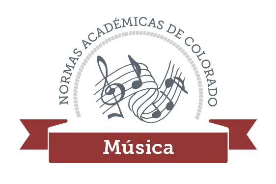 Colorado Academic Standards Music Graphic Spanish