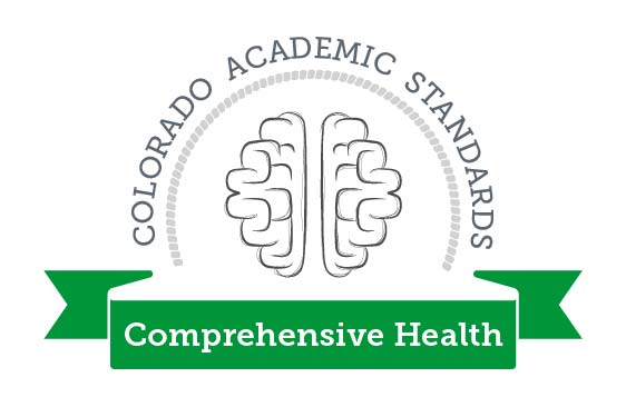 Colorado Academic Standards Comprehensive Health Graphic