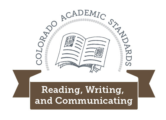 Colorado Academic Standards Reading, Writing, and Communicating Graphic