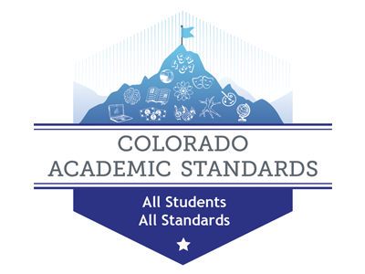 Colorado Measures of Academic Success (CMAS) Mountain shield