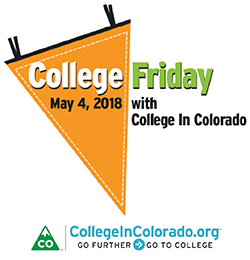 College in Colorado logo with College Friday 2018 date
