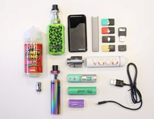 Image of devices used for vaping