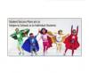 photo of superhero students