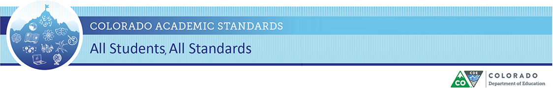 2020 Colorado Academic Standards
