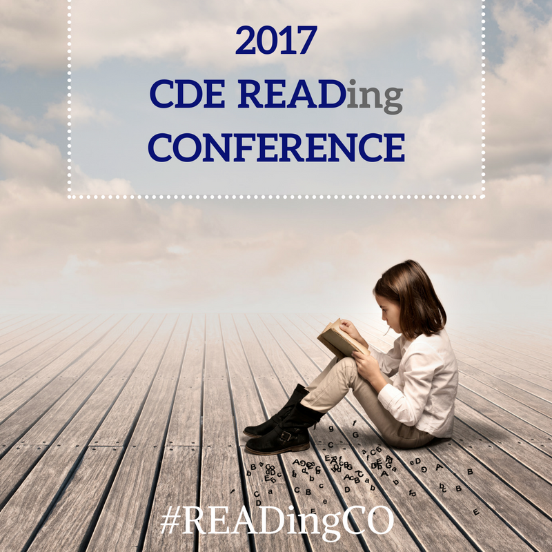 2017 READing Conference Program; young girl reading