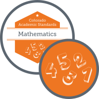 Graphic for academic standards for mathematics