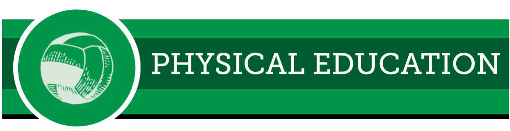 Web banner for physical education
