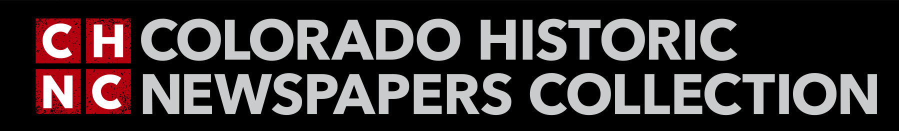 Colorado Historic Newspapers Collection Logo