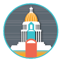 Funding and Policy Icon Graphic - Small
