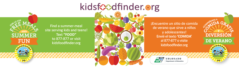 2018 Summer Food Service Program Website Banner (800x225 px)