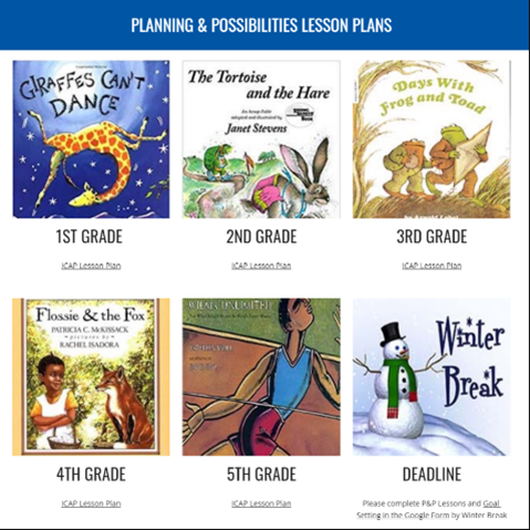 pictures of books use in elementary curriculum