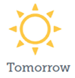 Tomorrow text with sun, , indicating what will be happening with the 2014 ICAP Refresh.