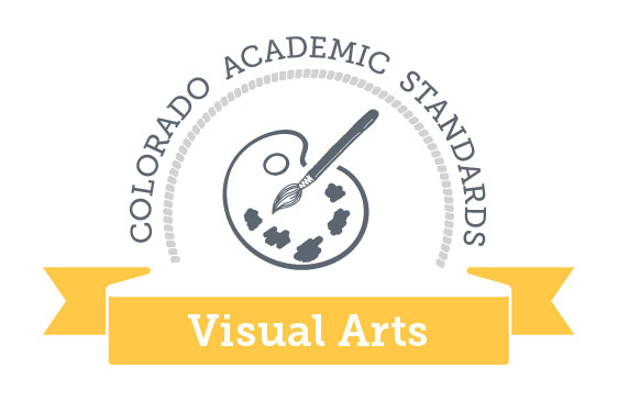 Colorado Academic Standards Visual Arts Graphic