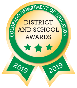 Colorado Department of Education District and School Awards 2019