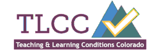 Logo for Teaching and Learning Conditions Colorado survey